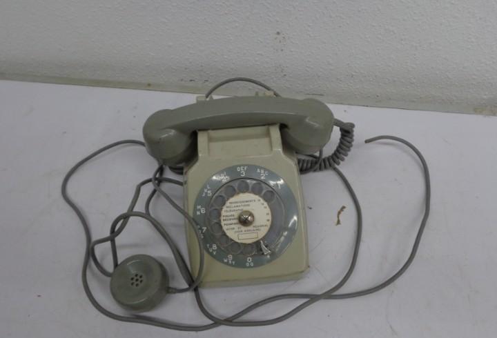 Antiguo años 60 retro vintage, raro y bonito telefono