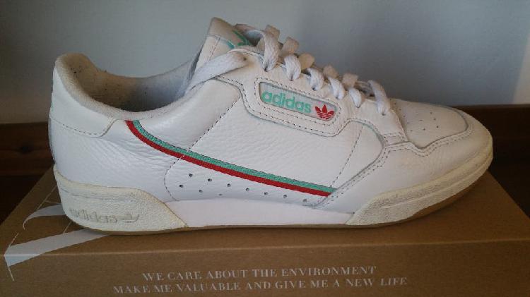 Adidas originals continental 80, hombre 38 2/3