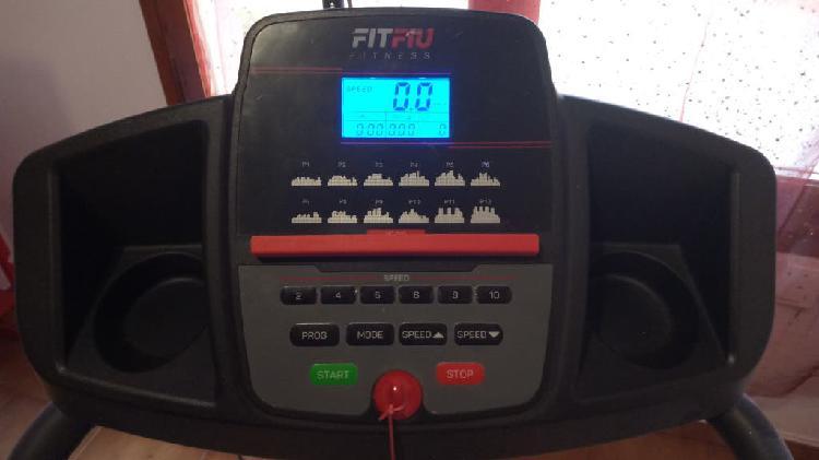 Cinta de correr eléctrica fitfiu fitness mc 100