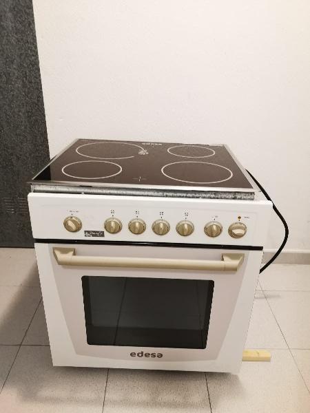 Conjunto edesa. horno y placa vitroceramica.