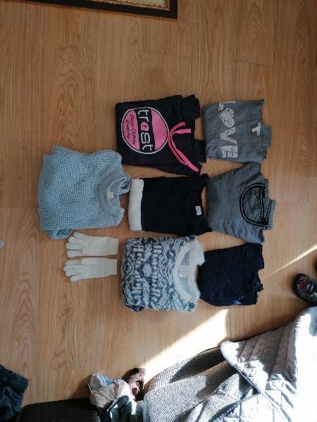 Conjunto jerseys de chica
