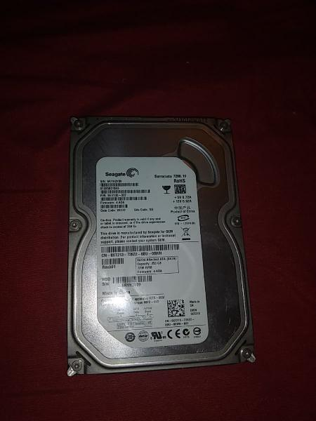 Disco duro 250gb seagate