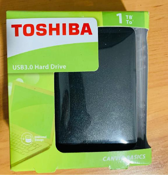 Disco duro toshiba 3.0 1tb