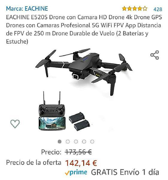 Dron camara eachine e520s