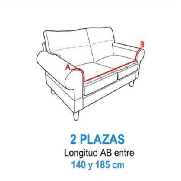 Funda sofá 2 plazas