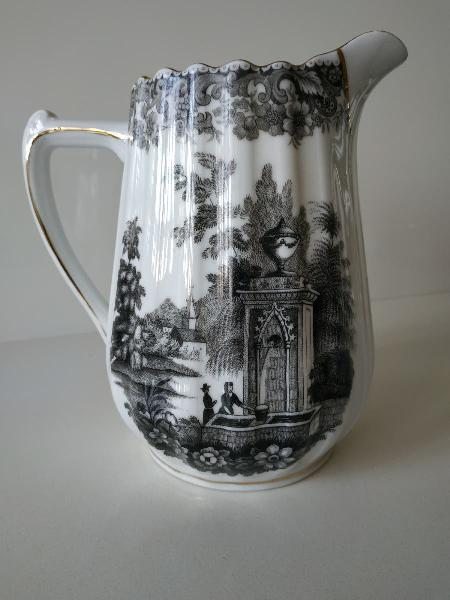 Inusual jarra porcelana diseño