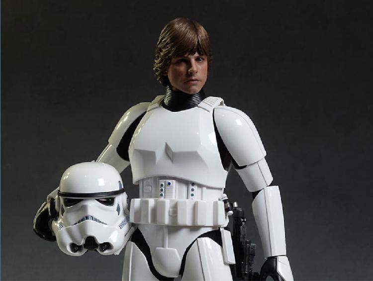 Luke skywalker stormtrooper disguise hot toys