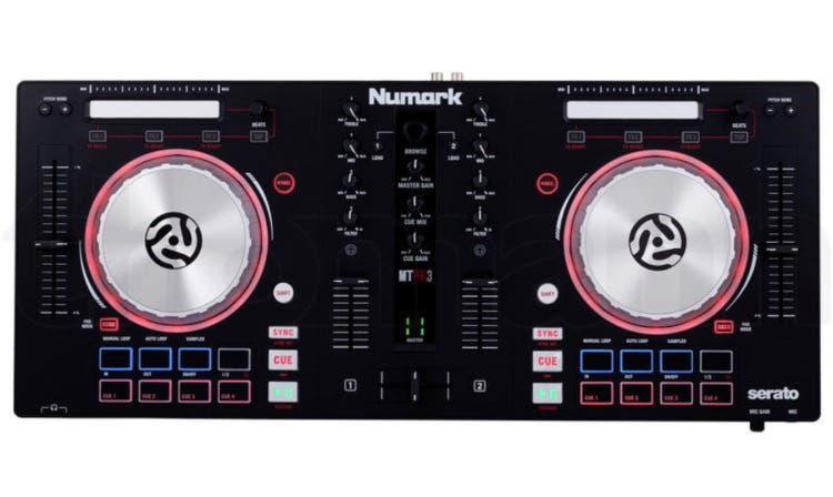 Mesa de mezclas numark mixtrack pro 3