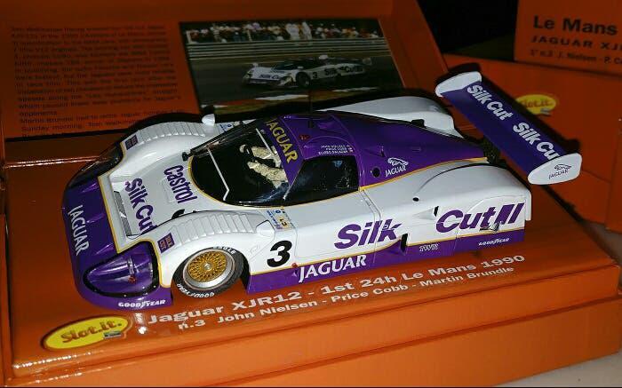 Slot.it jaguar xjr-12 silk cut winner cw11