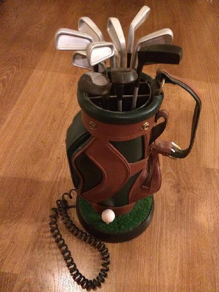 Teléfono bolsa de golf