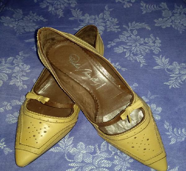 Zapatos vintage pedro miralles piel. talla 36.