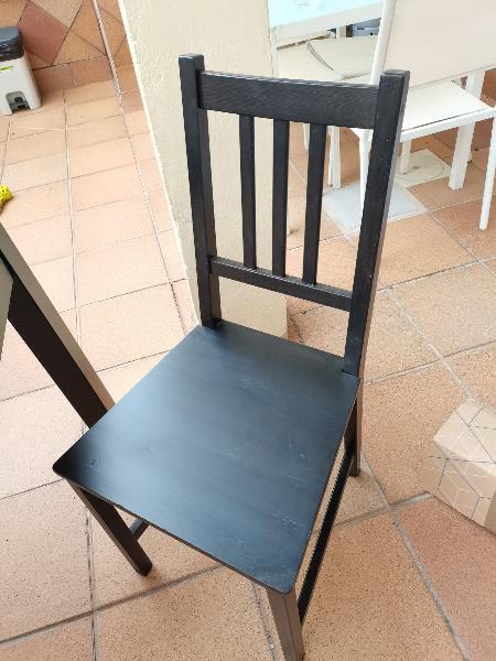 Conjunto comedor ikea. mesa, sillas