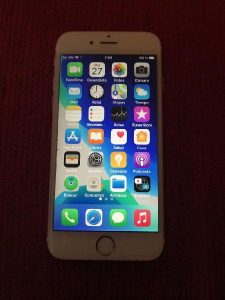 Iphone 6s oro rose