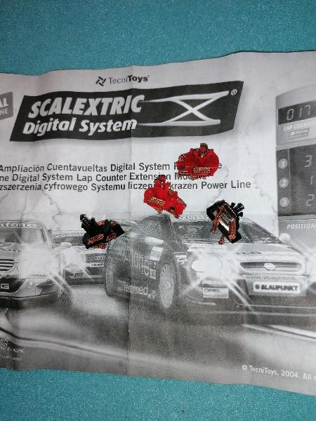 Scalextric digital guías v1 precio unidad