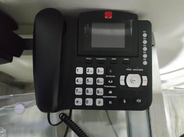 Teléfono fijo con opción a tarjeta sim