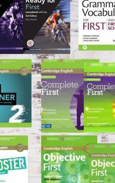 18 libros first certificate b2 cambridge