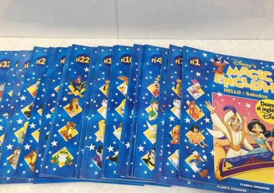 31 revistas. magic english. disney (nuevos)