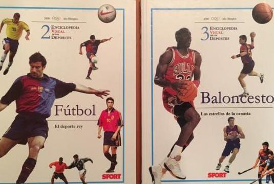 Enciclopedia visual de los deportes
