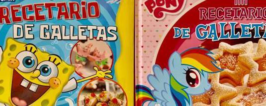 Hacer galletas con bob esponja y my little pony
