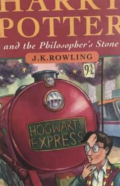 Harry potter and the philosopher's stone 1st print