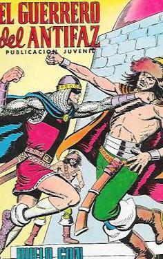 Lote 1 el guerrero del antifaz años 70