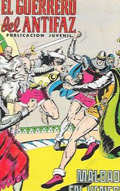 Lote 7 el guerrero del antifaz años 70