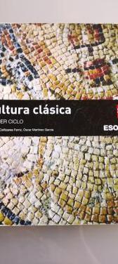 Libro cultura clásica 1er ciclo eso