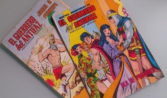 Lote revistas/cómics el guerrero del antifaz