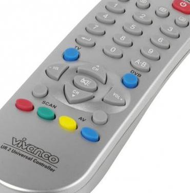 Mando a distancia universal para tv/dvb