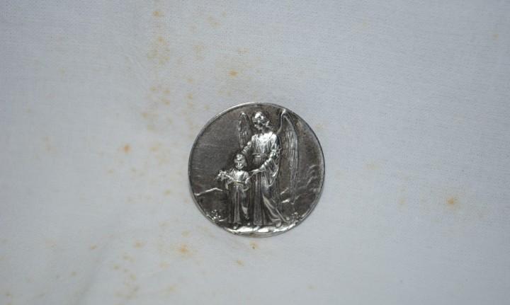 Medalla santo angel de la guarda
