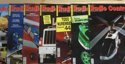 Revistas radio control años 1993 al 1995