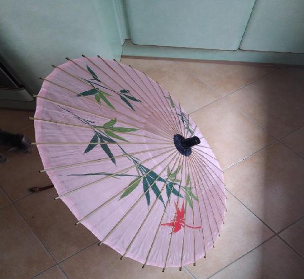 Sombrilla japonesa seda
