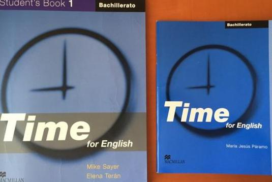 Time for english