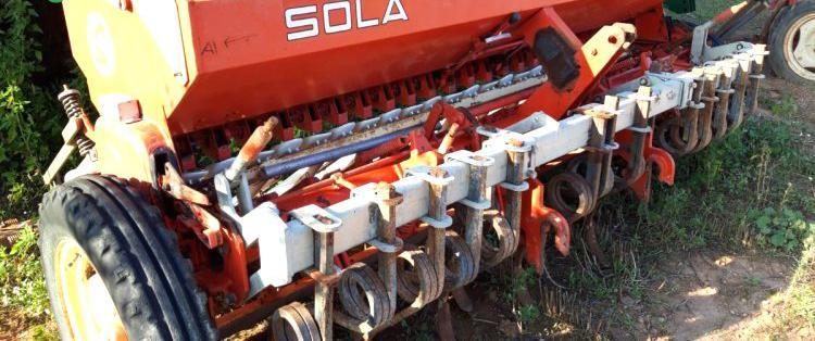 Venta de sembradora de cereal solá 784 en barcelona