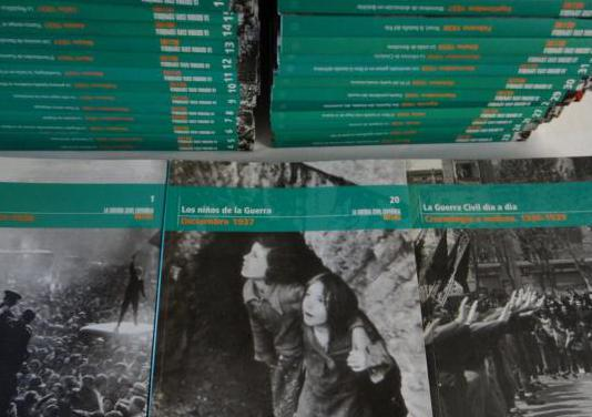 La guerra civil mes a mes. completa en 36 tomos