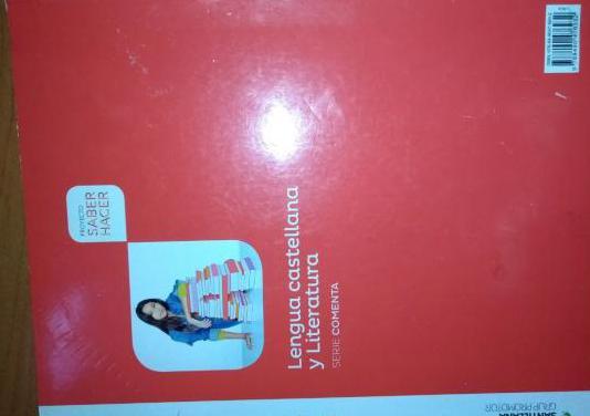 Libro de lengua y literatura castellana