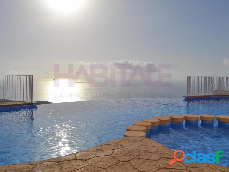 Bonito apartamento con fabulosas vistas al mar en cumbre del sol