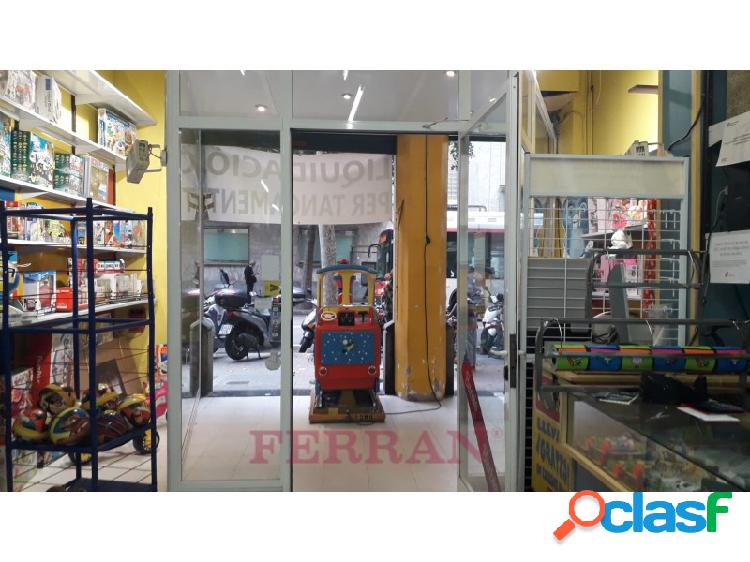 Local comercial alquiler calle Manso Barcelona 1
