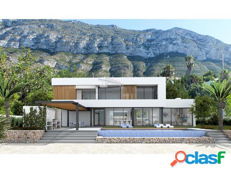 Proyecto de villa moderna en venta en dénia, alicante