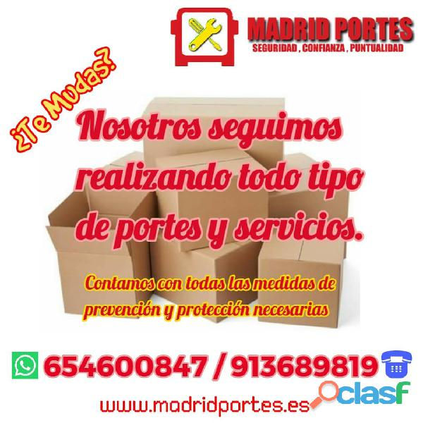 FLETES MADRID   PORTES RETIRO 28002