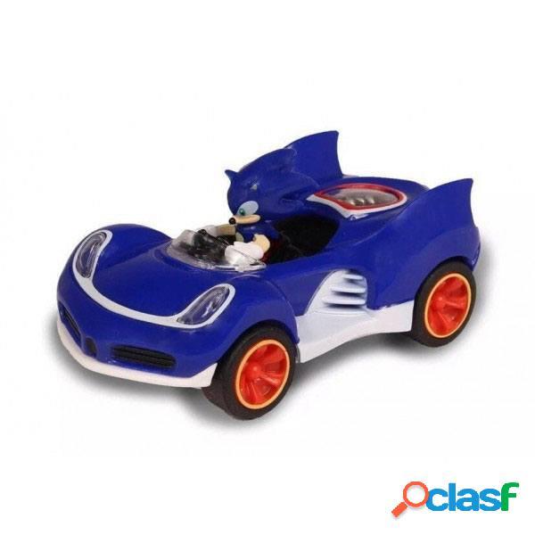 Coche Sonic vehiculo de friccion