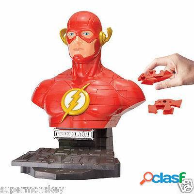 Puzzle La Liga de La Justicia Flash 3D