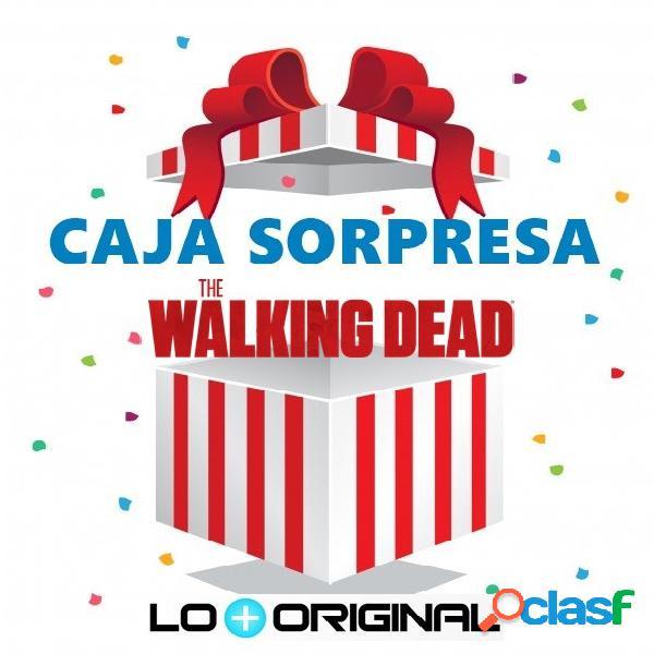 Caja sorpresa the walking dead