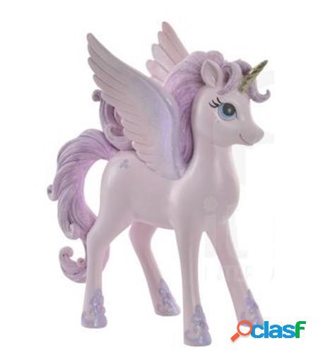 Figura resina unicornio 22cm