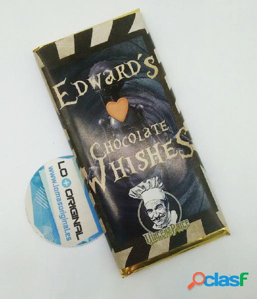 Tableta chocolate eduardo manostijeras
