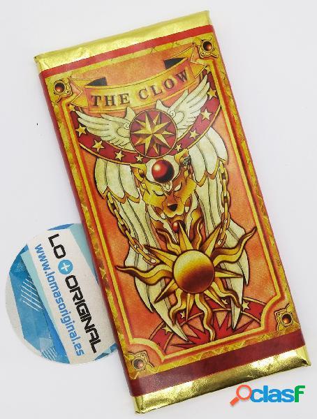 Tableta chocolate sakura cazadora de cartas