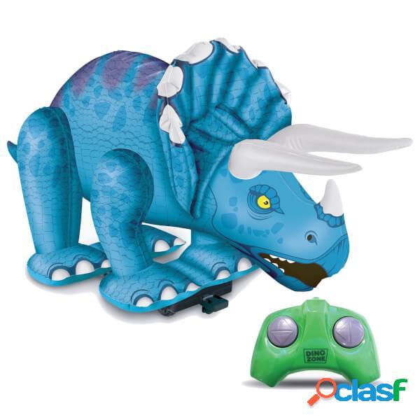 Triceratops hinchable radio control