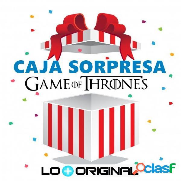 Caja sorpresa juego de tronos