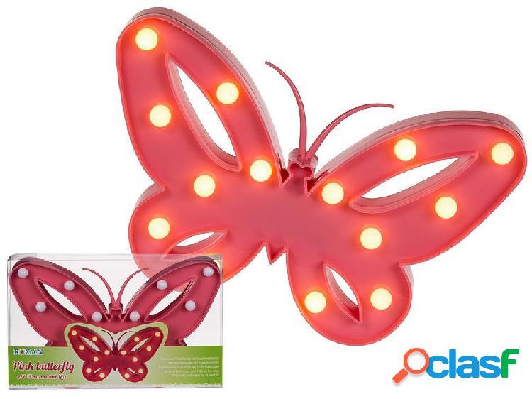 Lampara mariposa led