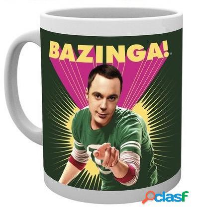 Taza big bang theory sheldon bazinga